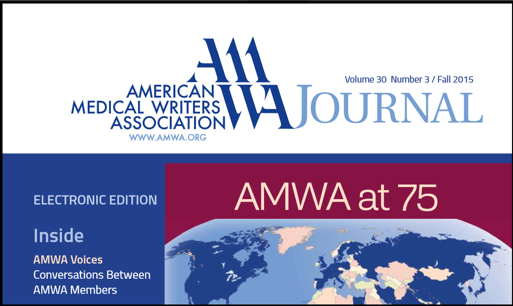 AMWA Journal Fall 2015